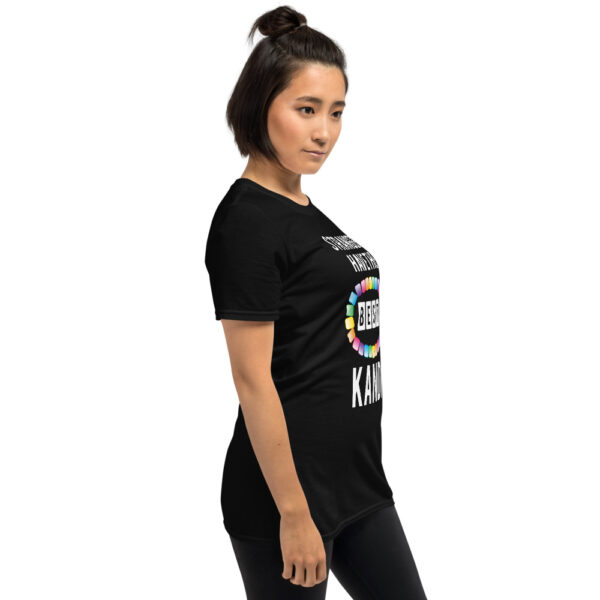 Strangers Have the Best Kandi - Short-Sleeve Unisex T-Shirt   Gildan - Black